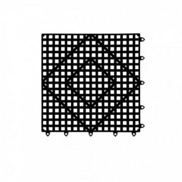 REJILLA NEGRA 30,5 x 30,5 cm