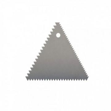 PEINE TRIANGULAR 11 x 9 cm